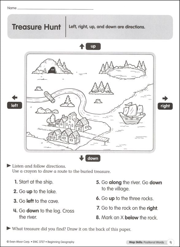 Geography Worksheets For 1st Grade 965393