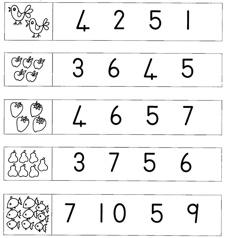 Grade R Worksheets Number – Learning Printable