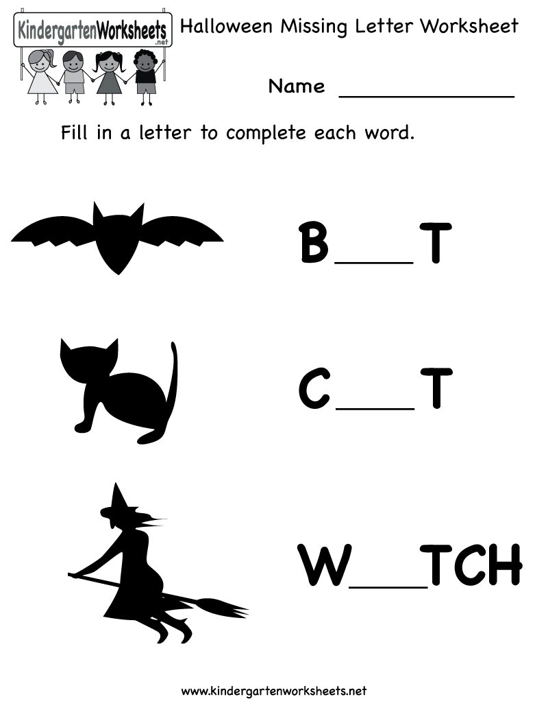 Halloween Worksheets Preschool Free 1290938