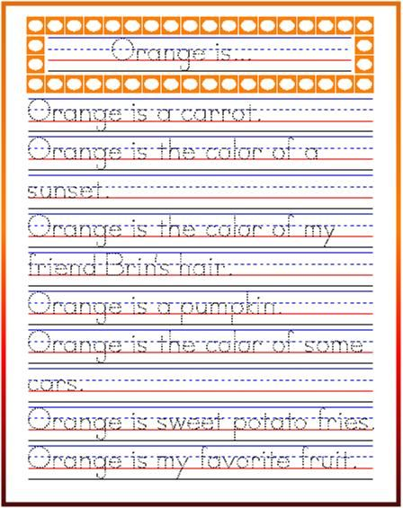 Handwriting Worksheets Sentences The Best Worksheets Image