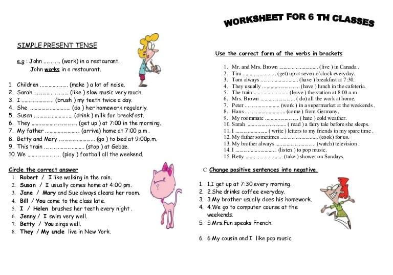 He She It Worksheet For Kindergarten Pdf 17604