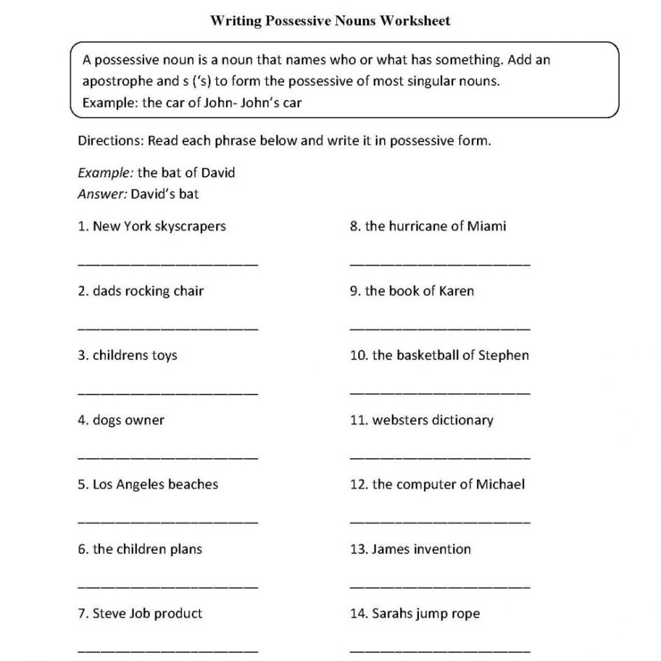 Kids  Grade 5 Language Worksheets  Grade Six English Worksheets