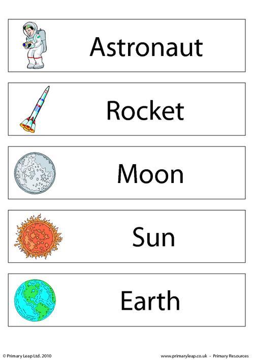 Kindergarten Worksheets On The Solar System 248144