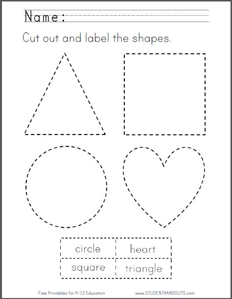 Last Chance Printable Cut Out Shapes Best Phot  24156