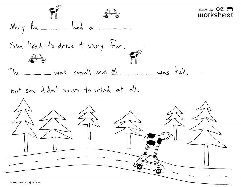 Made By Joel » Kids Spelling Worksheet No  2