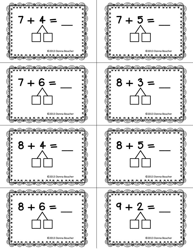 Making Ten Worksheets 2nd Grade The Best Worksheets Image