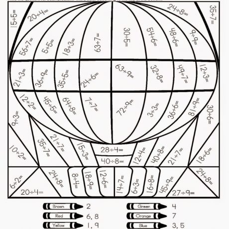 Math Coloring Worksheets For 7th Grade 549218