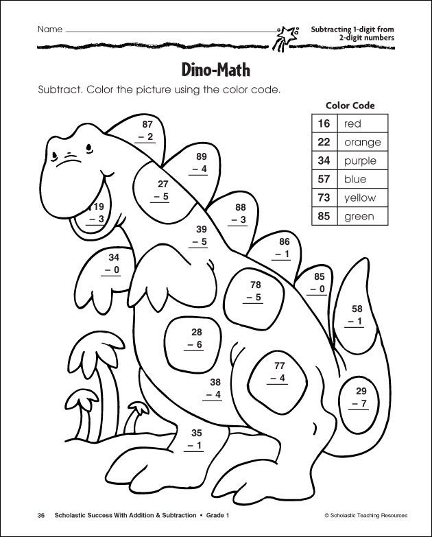 Math Coloring Worksheets For Grade 2 790545