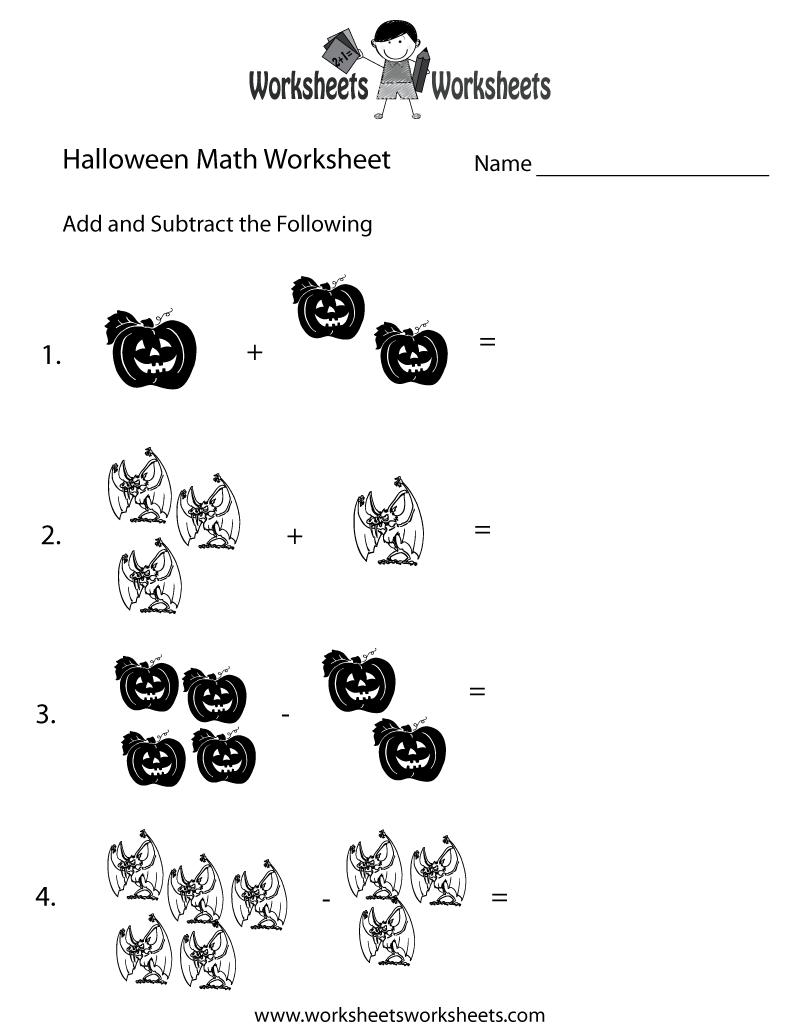 Math Halloween Worksheets 2nd Grade 1435589