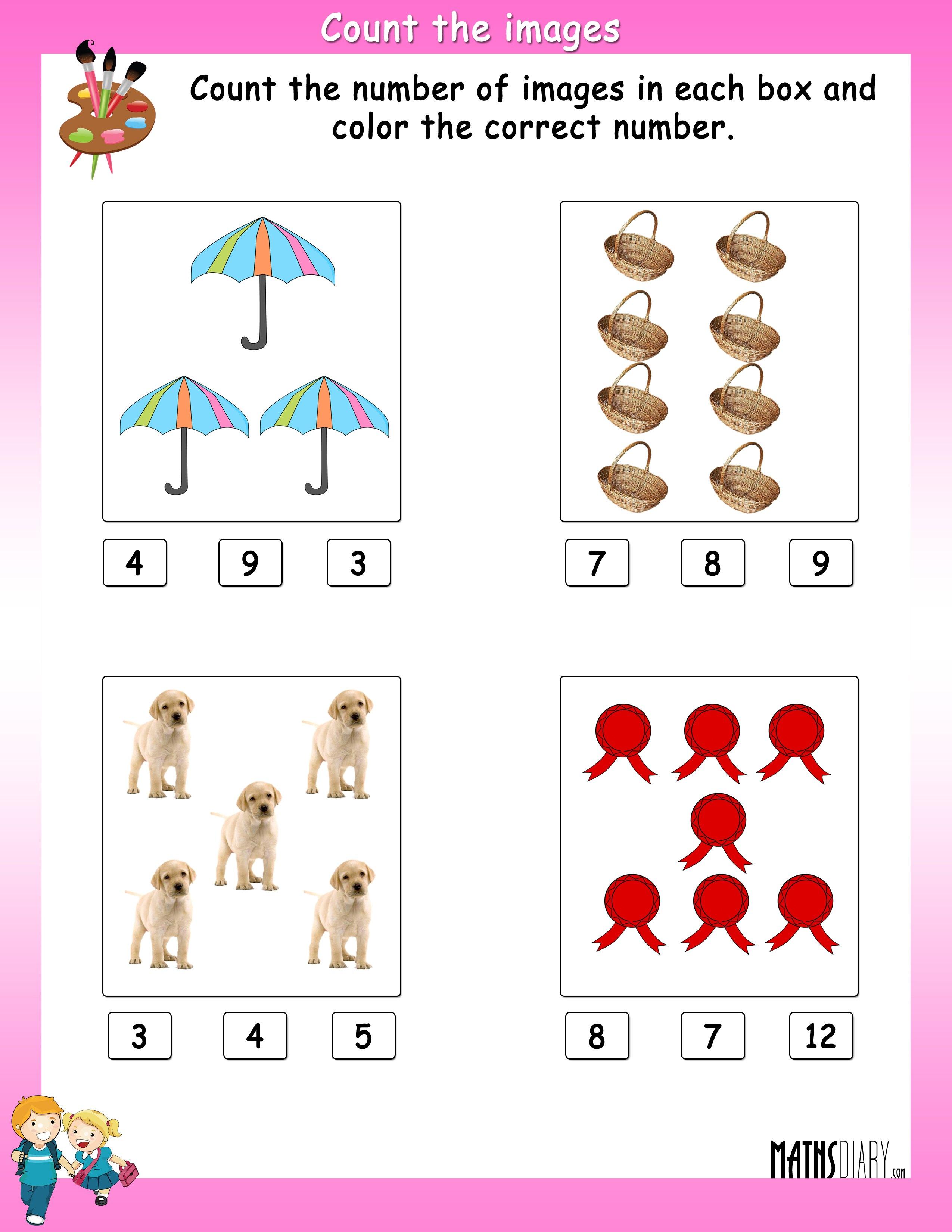 Math Worksheets Ukg 701077