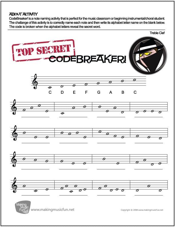 Music Activity Worksheets Kindergarten 248030