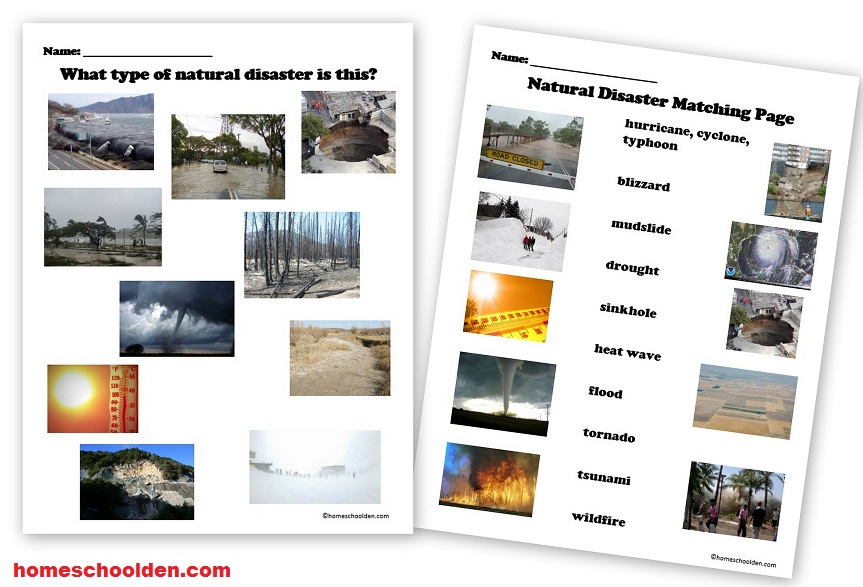 Natural Disaster Worksheets The Best Worksheets Image Collection