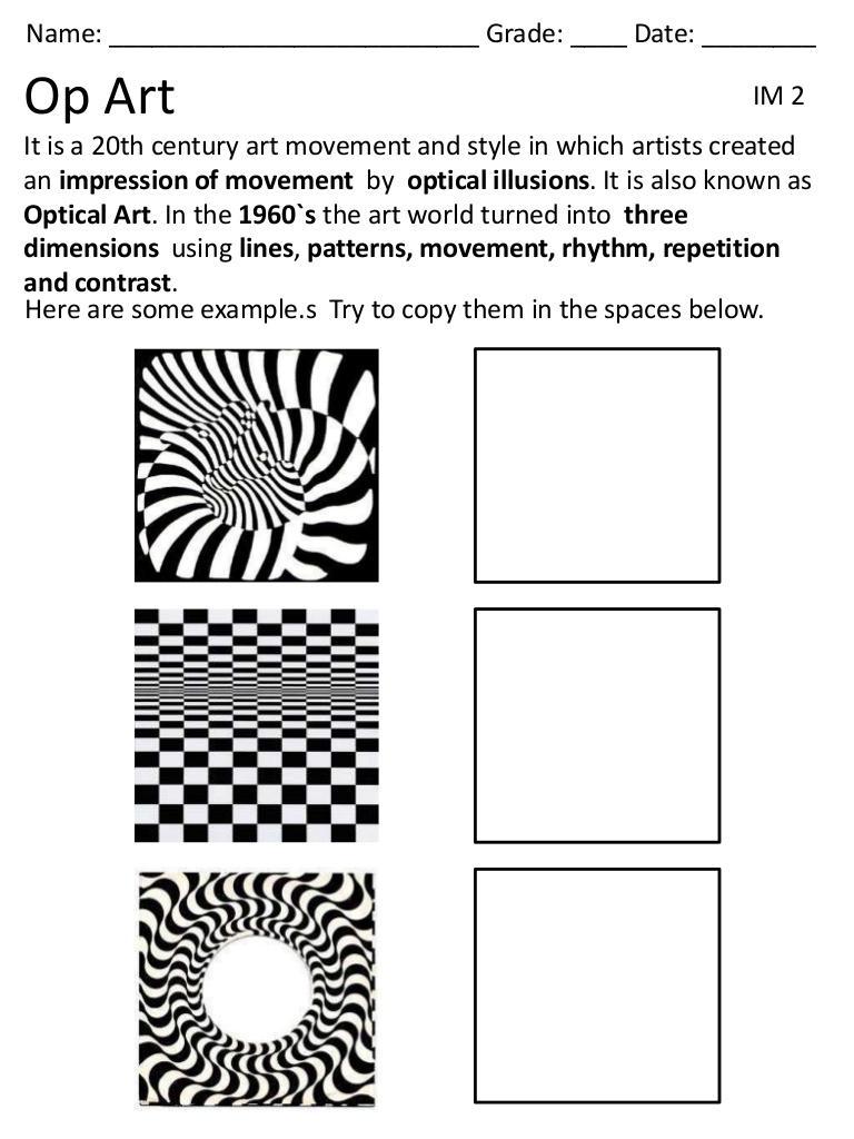 Pattern Worksheets Art The Best Worksheets Image Collection