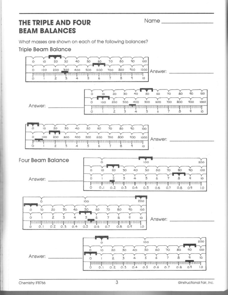 How To Read A Four Beam Balance Scale New Images