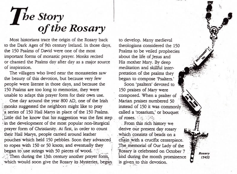 Rosary Worksheet The Best Worksheets Image Collection