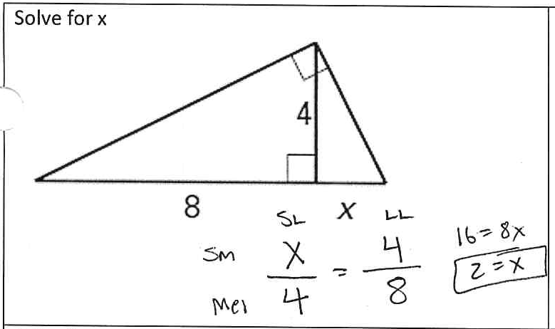 Similarity In Right Triangles Worksheet The Best Worksheets Image