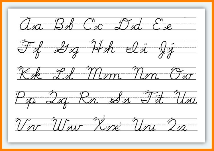 Tracing Cursive Letters Worksheets The Best Worksheets Image