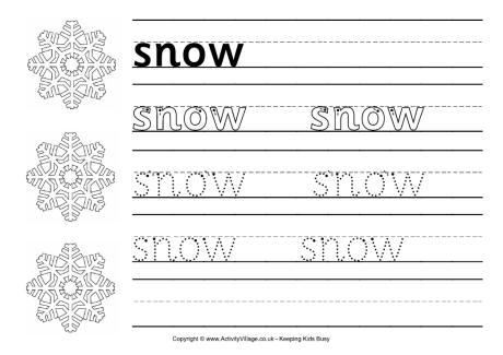 Winter Worksheets For Kindergarten Pdf 151248