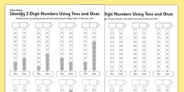 Ks1 Maths Place Value Identify 2