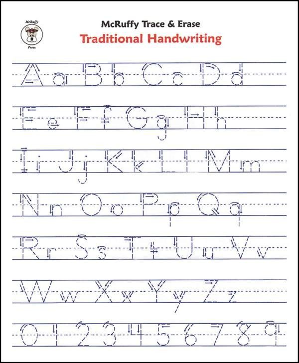 Free Printable Alphabet Writing Worksheets For Kindergarten  1