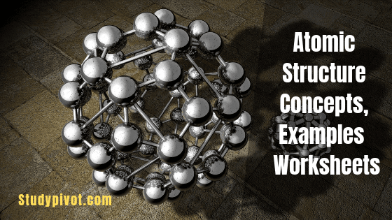 Atomic Structure  Concepts, Examples And Worksheets