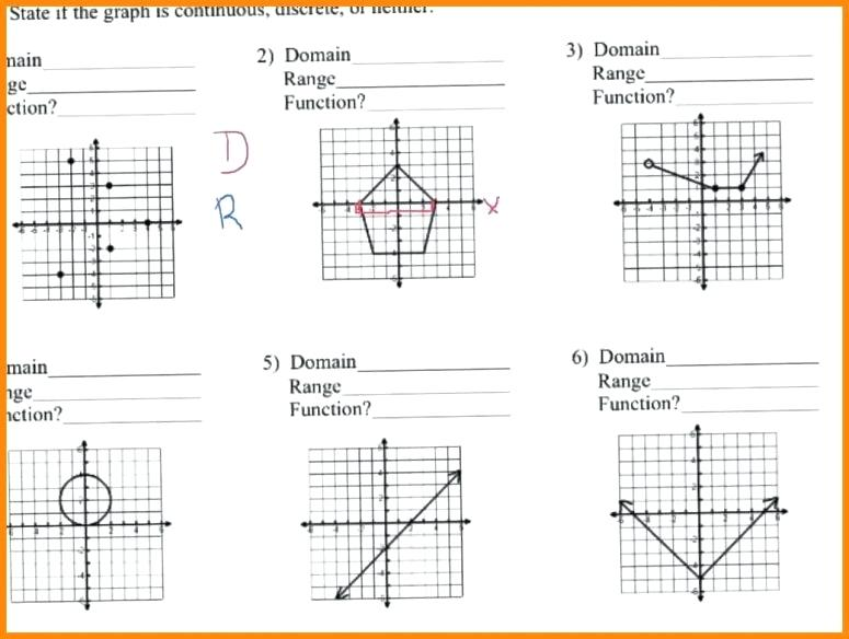 15+ Domain And Range Of Graphs Worksheet