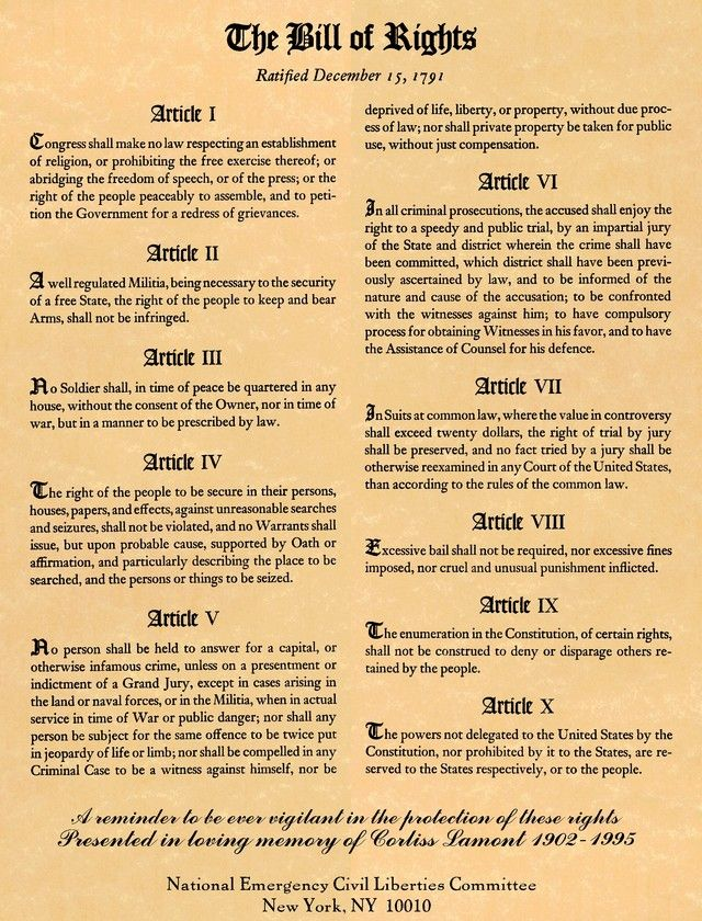 Best Bill Of Rights Worksheet Awesome 20 Best Bill Of Rights For