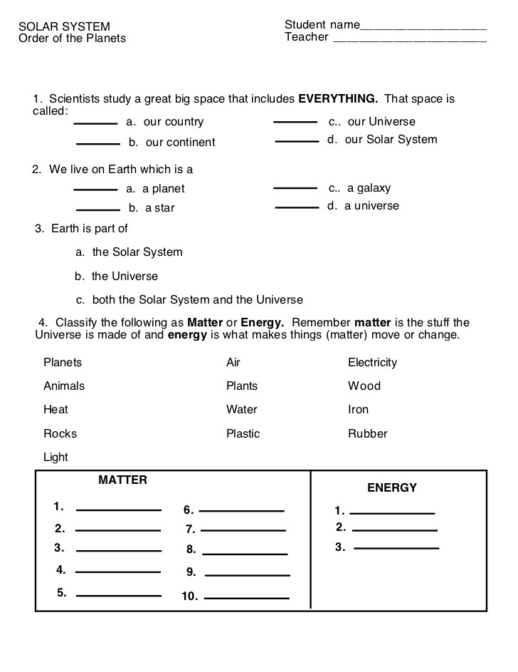Weathering And Erosion Worksheets For 3rd Grade