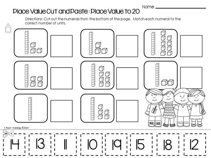 Kindergarten Place Value Worksheet Worksheets For All