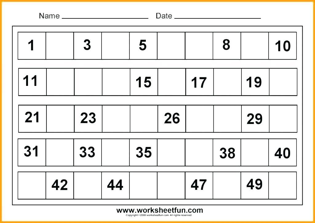 Kg 1 Worksheets Free For 1st Grade Pdf Kindergarten Students
