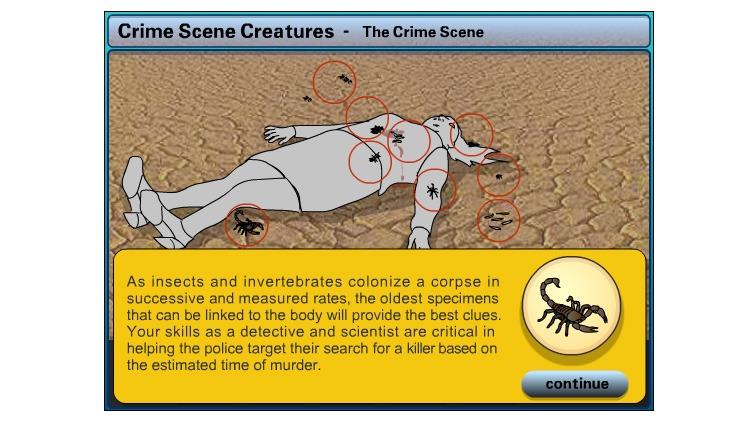 Crime Scene Creatures