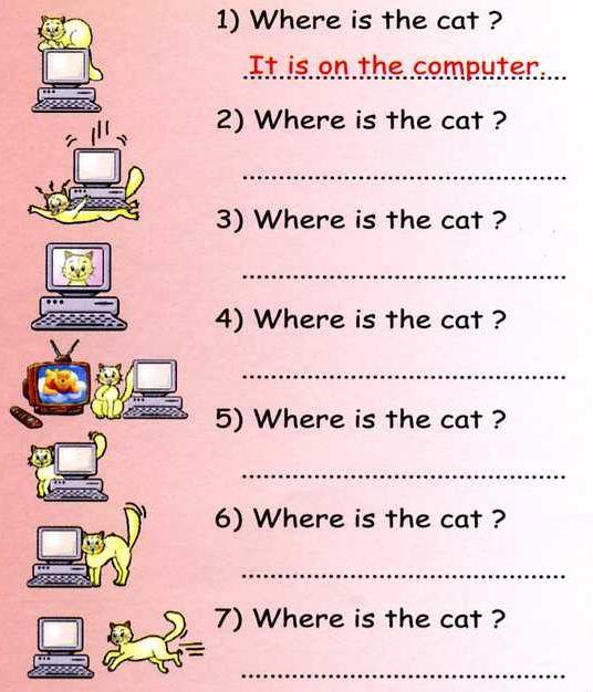 Please Send Worksheets On Prepositions