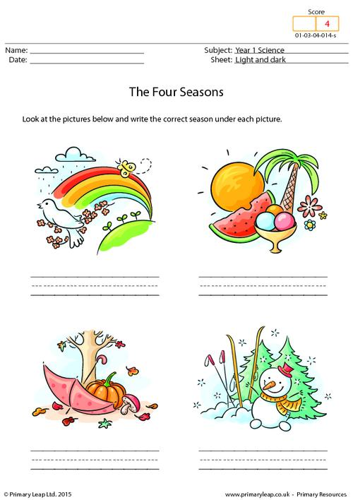 Writing The Four Seasons