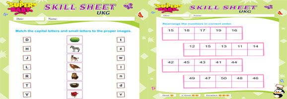 Ukg Worksheets Free Download