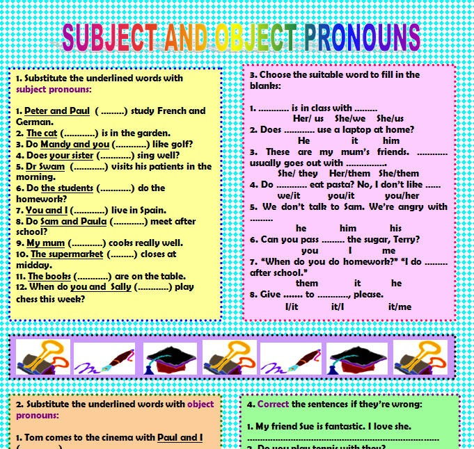 Subject & Object Pronouns