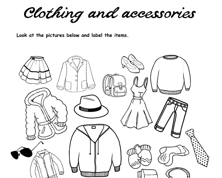 61 Free Fashion And Style Worksheets