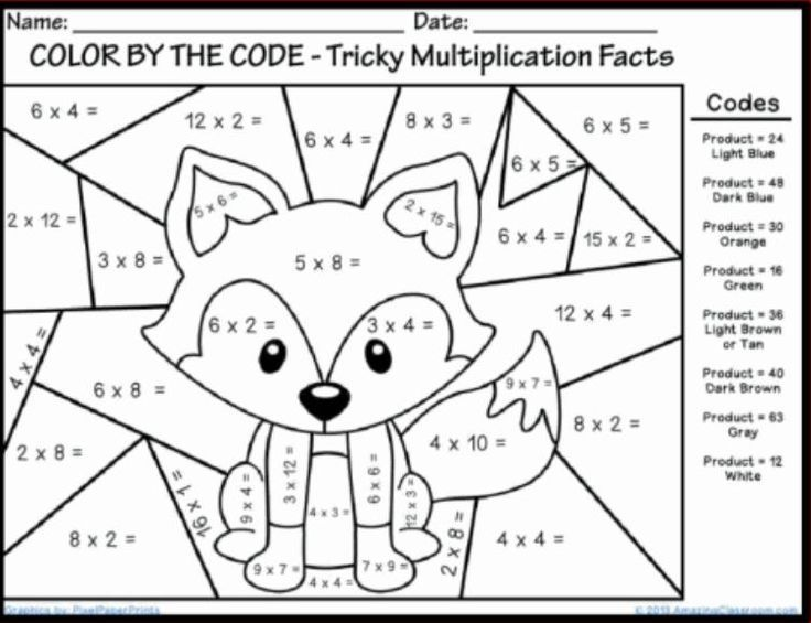 Best Coloring First Grade Coloring Math Sheets In Color Number