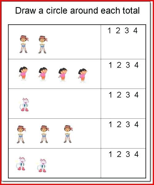 Preschool Worksheets Age 4