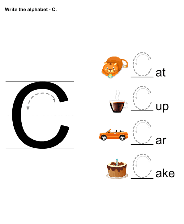 Letter Writing C