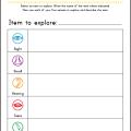 Free Printable Five Senses Worksheets