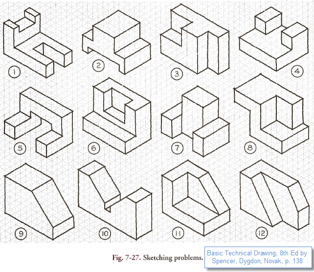 Dimensioning Practice Worksheets