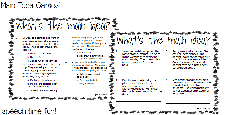 5th Grade Main Idea Worksheets Free Worksheets Library Download