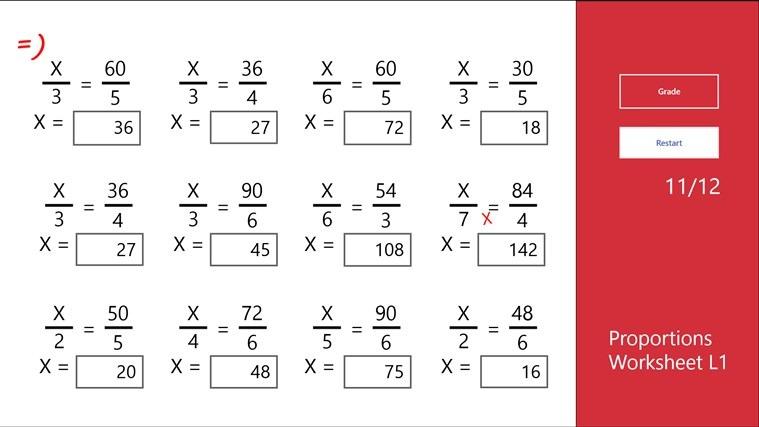 Printables  Proportions Worksheet  Lemonlilyfestival Worksheets