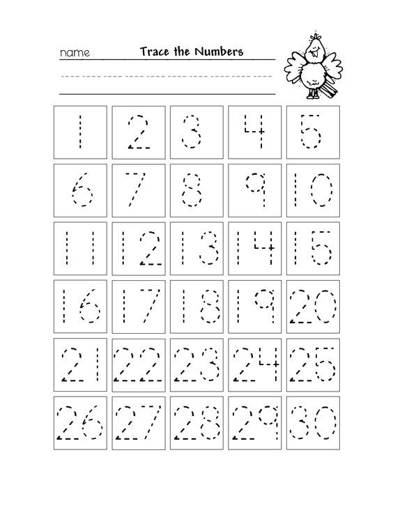 Trace Numbers 1