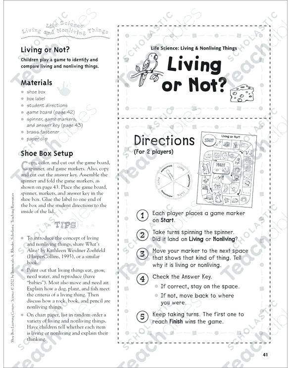 7th Grade Life Science Worksheets Free Life Science Worksheets