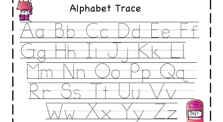 Abc Tracing Worksheets Tracing Worksheets With Pictures