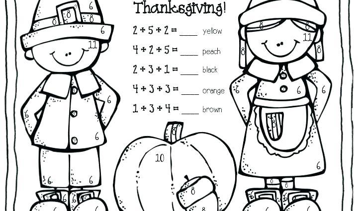 1st Grade Thanksgiving Worksheets – Arrahmah
