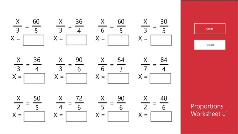 Agreeable Free 7th Grade Math Worksheets Proportions With
