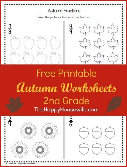 Autumn Worksheets  Free Printables