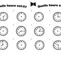 Time In French Worksheets